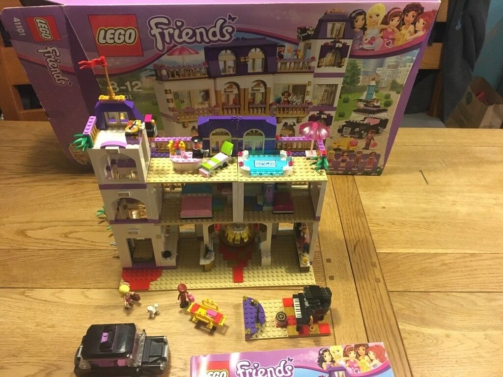 Lego Friends Heartlake Grand Hotel 41101 100 Complete With Box
