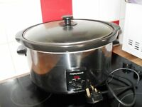 morphy richards slow cooker ,clean ,fully working ,hardly used,bargain at £15