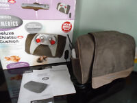 Homedics Deluxe Shiatsu Cushion with Remote Control – Boxed – Instructions