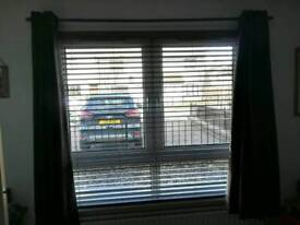 Curtains with pole, great condition
