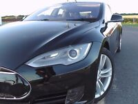 2015 Tesla Model S 70D All Wheels Drive Autopilot Service History Under Warranty