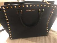 Beautiful Michael Kors studded leather bag