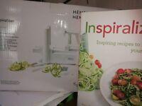 Hemslet Spiraliser + recipe book