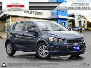 2015 Chevrolet Sonic LT!!! HEATED SEATS!! REMOTE START!! P.GROUP