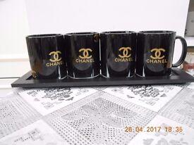new set of 4 mugs