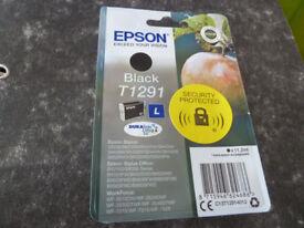 Epson Black Ink Cartridge - NEW