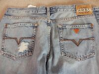 "GUESS AUTHENTIC JEANS WAIST 29"" AS NEW CONDITION"
