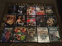 WWE PPV DVDs X 15