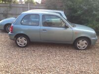 For Sale ..... Nissan Micra 2003