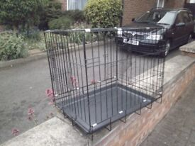 some extra large dog cages