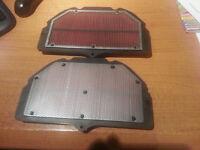 New Genuine Suzuki GSXR1000 K3 K4 K5 K6 Air filters 35F0 and 41G0