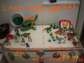 Toy Story figures,2 bundles