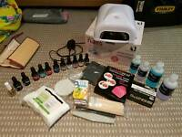 Full gellux nail kit