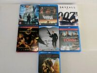 Slection of 7 Action Bluray films