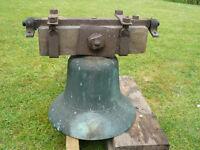 Antique Bronze Church Bell
