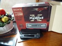 SONY XPLOD COMPACT DISC PLAYER/STEREO, NEW/BOXED, BARGAIN £25, CAN DELIVER