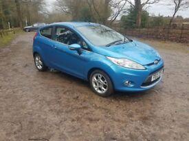 Ford firsta ZETEC 1.2 petrol 2012