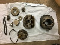 Offers on BSA bantam barrel head piston and other parts