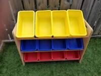 Kids/nursery storage rack