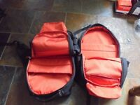A PAIR of Goji Adventure Bags - Laptop/ Camera