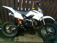 125 pitbike had loads spent onit