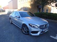 Mercedes-Benz C Class C220 Bluetec Amg Line Saloon Auto Diesel 0% FINANCE AVAILABLE