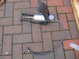 car foot pump