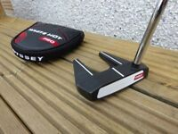 Odessey Putter - White Hot Pro 7, 35 inches long, with headcover