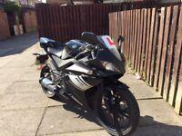 Yamaha YZF R125 Motorbike Black 2009