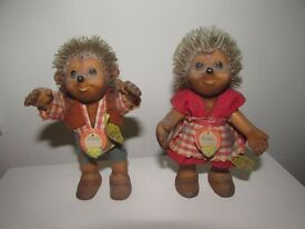 VINTAGE STEIFF MACKI AND MUCKI HEDGEHOGS (COLLECTION BRIGHTON)