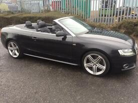 ***2009 AUDI A5 2.0 TFSI S-LINE FULL SERV HIST+ALLOYS+SAT NAV+LEATHER TRIM*** *£9,999!