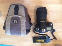 Nikon D90 Digital SLR Camera with 18-105mm VR Lens Kit, Spare Battery and More!