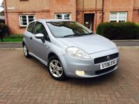 FIAT PUNTO 1.4 ACTIVE SPORT GENUINE LOW MILEAGE ONLY 27K IMMACULATE CONDITION 1 OWNER