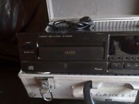 Technics mash CD player with hard case 50ono