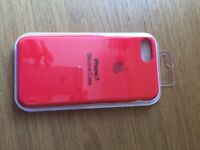 Iphone 7 mobile case red
