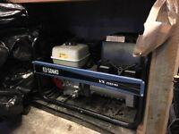 SDMO VX200/4H 200amp DC welder/generator