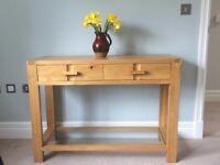 Oak Console/ Side table (John Lewis Monterey range)