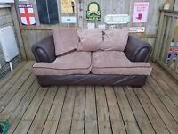 Bought from leekes stunning super comfy Leather & fabric settee i
