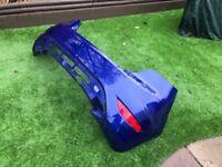 Ford Fiesta ST rear bumper (Spirit Blue)
