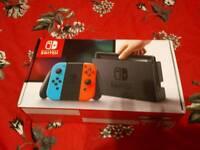 Brand New and Unopened Nintendo Switch (neon)