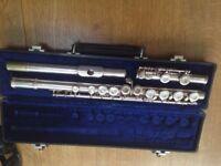 Silver flute Germanine Hardt