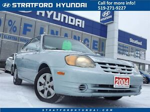 2004 Hyundai Accent GS | SAFETY CERTIFIED | ONLY 127K!! | A/C |