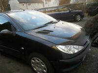 REDUCED ! PEUGEOT 206 (54 reg) 1.4Litre Low 66,000 Mls, 12 Months MOT,