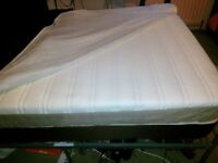 Double Bed perfect condition Orthopaedic Mattress Removable and Washable Lining