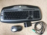 Logitech Wireless Keyboard & Mouse set (MX3000)