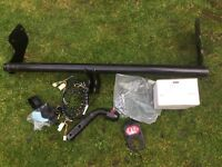Kia Picanto tow bar with fittings and electrics.