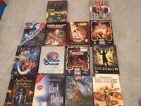 Vintage Big Box PC CD Rom Games