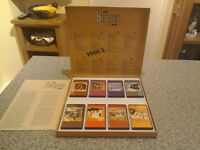 The beatles box of 8 audio cassettes