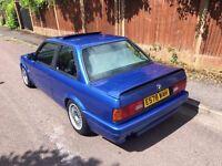1988 BMW E30 325i MTEC2 KIT CLASSIC MODIFIED BBS ALLOYS ESTROIL BLUE LONG MOT