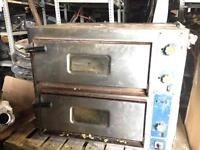 TWIN DECK GAS PIZZA OVEN £400